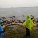 Rovinj - djeca na kiši